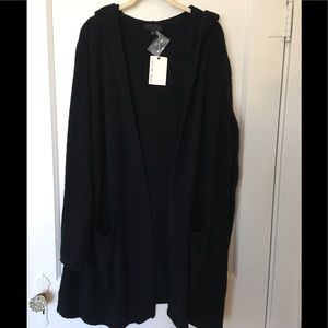 Barefoot Dreams COZYCHIC LITE Relaxed Hooded Cardi